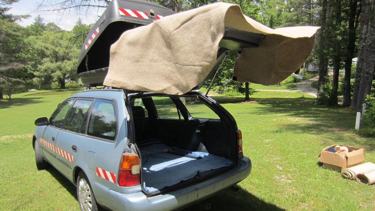 How To Make A Car Canopy Home Made Car Tent For