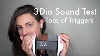 asmr 3dio test ear to ear case tapping mouth sounds unintelligible whispering more
