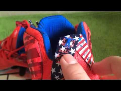 73b0a48e805 Nike LeBron 12 4th of July - YouTube