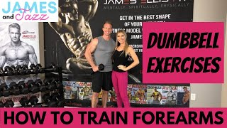 How To Train Forearms    Dumbbell Exercises    Exercise Demonstrations    Instructional Video