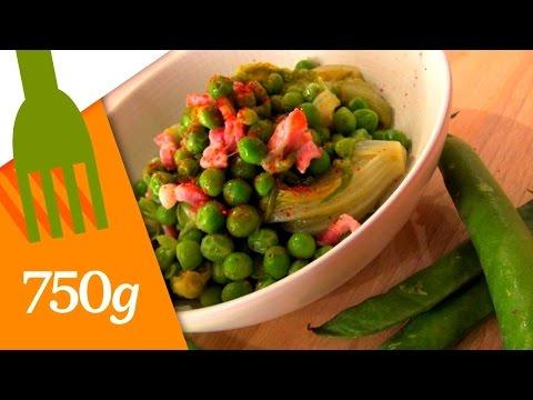 recette-de-petits-pois-à-la-française---750g
