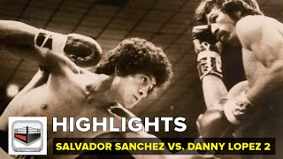 La revancha. Salvador Sanchez vs Danny El Coloradito Lopez 2 / VIDEO - FULL HIGHLIGHTS
