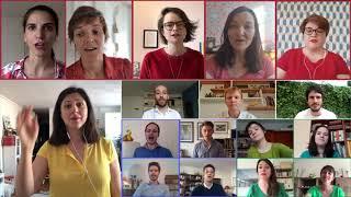 La famille tortue, chœur43 (les doudous lyriques) - chœur virtuel en confinement