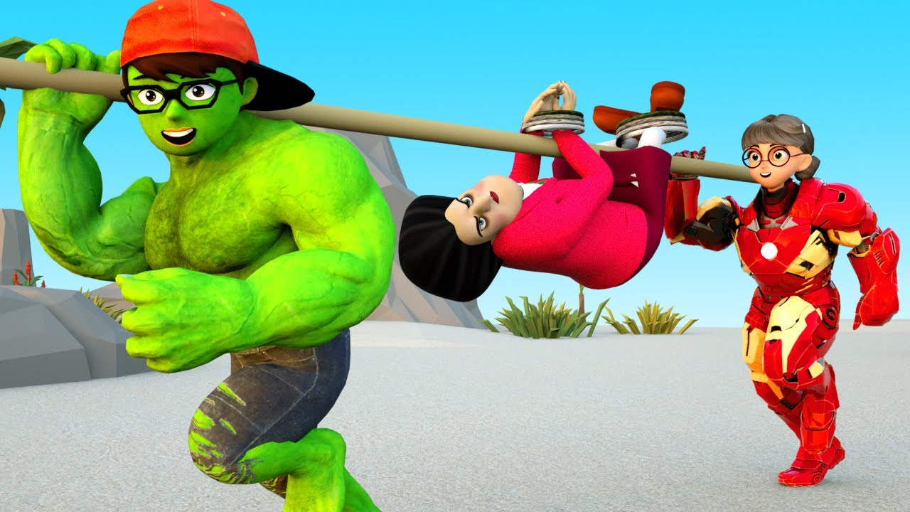 Download Nick and Tani Rescue MissT - Scary Teacher 3D Aborigines Zombe
