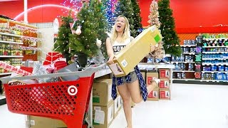 CHRISTMAS SHOPPING AT TARGET!!!