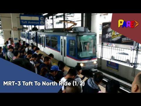 [HD] Rail Specials #81: MRT-3 Rizal Day Rail Joyride From Taft Avenue To North Avenue (Part 1)