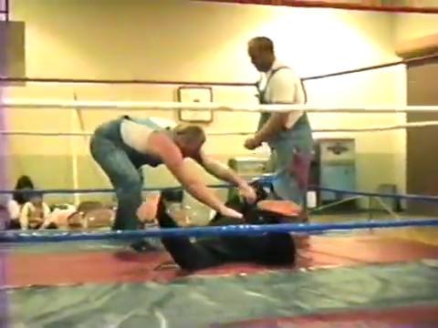 Vincennes Indiana 1990 wrestling show
