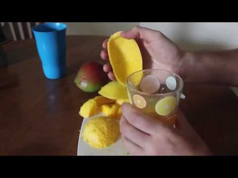 Here's Another Way You Never Considered Peeling A Mango | HuffPost Life