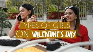 Types Of Girls On Valentine's Day | Komal Pandey
