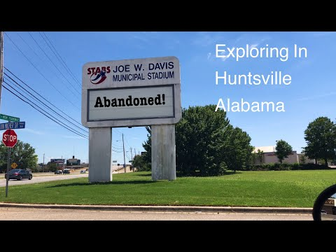 EXPLORING AN ABANDONED BASEBALL STADIUM: JOE DAVIS STADIUM IN HUNTSVILLE ALABAMA