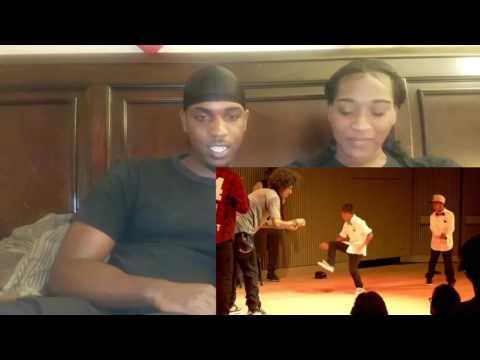 LES TWINS VS ART OF TEKNIQUE| CITY DANCE LIVE | BATTLE AT SFJAZZ [ COUPLES REACTION