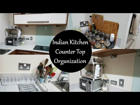 Kitchen Countertop Organization Kitchen Organization Ideas