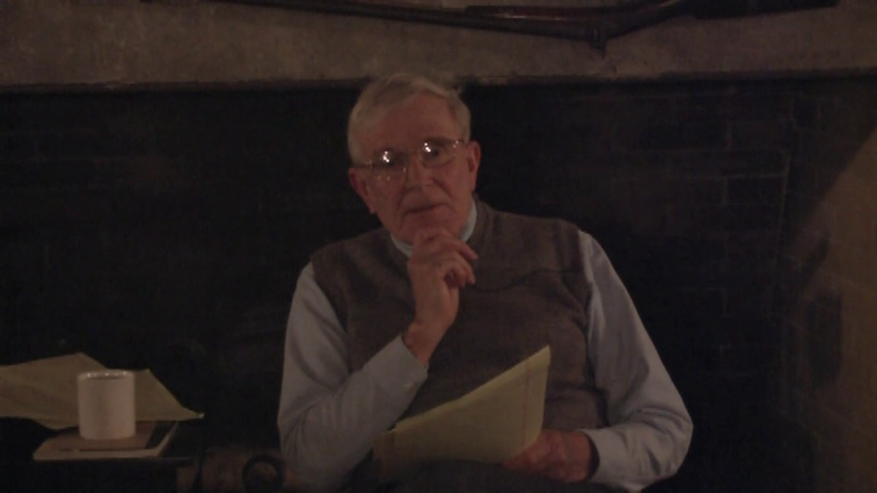 Dr. John Southwick at Alice Miner Museum  11-29-12