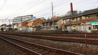 JR西日本 225系100番台U10編成 本線試運転追い撃ち@大蔵谷駅