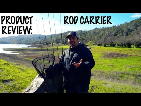 Bank Fishing Product Review: Rod Carrier