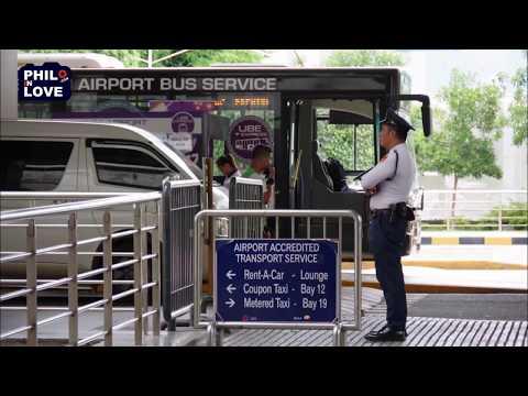 Manila Airport - Premium Airport Bus Service (UBE Express)