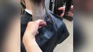 ЖЕНСКАЯ СТРИЖКА Подстричь волосы Алла Кудлаева салон La Familia Семейная парикмахерская Бровары