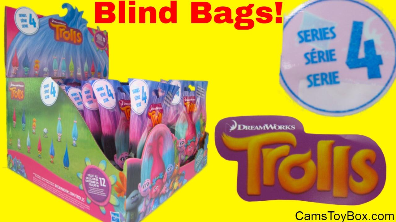Dreamworks Trolls Series 4 Blind Bags Surprise Toys