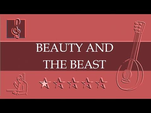 Mandolin TAB - Beauty And The Beast - Disney (Sheet Music)
