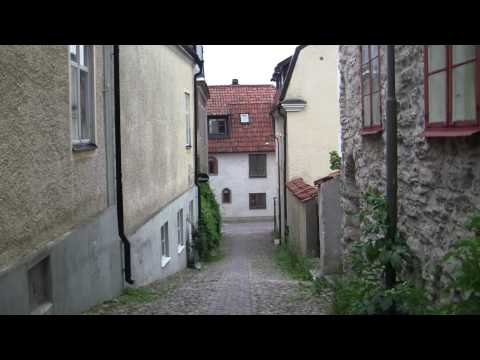 Streets of Visby - Gotland - Sweden Travel Video