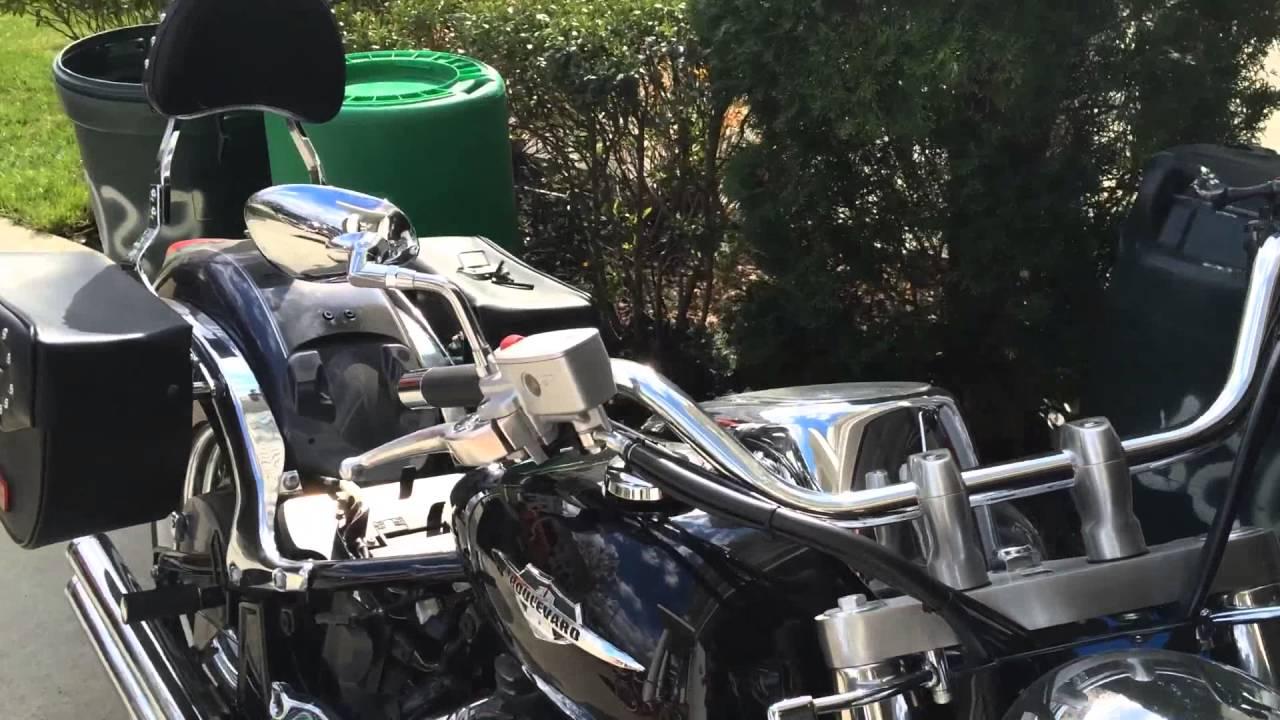battery suzuki boulevard c50t - youtube