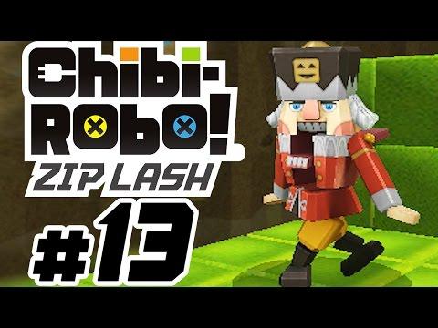 CHIBI-ROBO! ZIP LASH # 13 ★ Bisskewitz, der Nussknacker [HD   60fps] Let's Play Chibi-Robo! Zip Lash