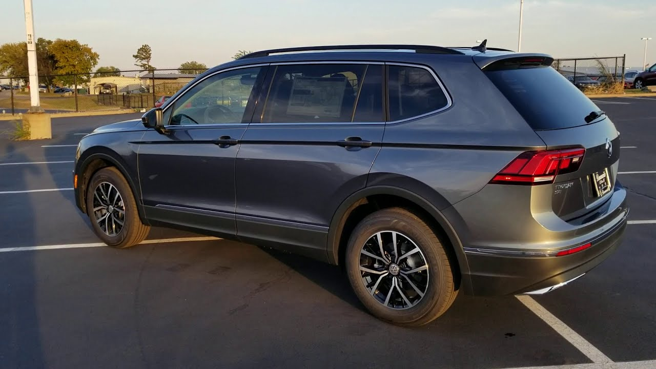 2021 VW Tiguan 2.0T SE 4Motion B Roll with technical ...