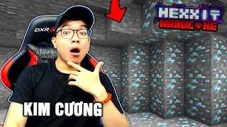 KIM CƯƠNG Ở KHẮP MỌI NƠI (Minecraft Hexxit Siêu Khó #1)