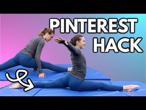 Trying Flexibility Hacks From Pinterest 3