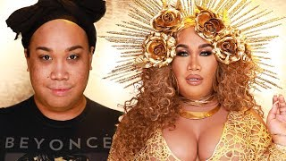 BEYONCÉ MAKEUP TRANSFORMATION  | PatrickStarrr