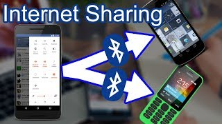 Share internet via Bluetooth | Fix Bluetooth internet tethering or Bluetooth Hotspot | To Old Nokia