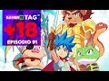 GAMERTAG +18 EP. 91 - BRAWL STARS, FIGMENT, MONSTER BOY AND THE CURSED KINGDOM