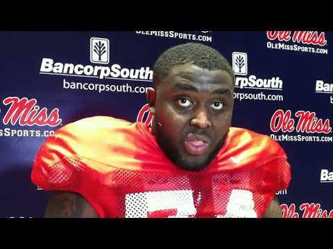 Ole Miss OT Greg Little, March 6 2018
