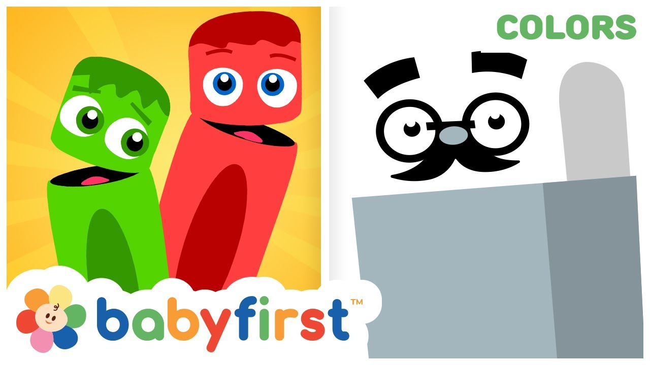 Toddler Learning Videos | Learn Colors with Color Crew | Fun Coloring for Kids | BabyFirst TV