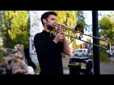 Amazing  Trombone Tribal Lounge Music 16PROD in Berlin, Germany