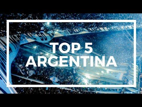 TOP 5 Football Fans - ARGENTINA
