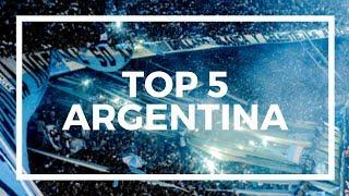 TOP 5 Football Fąns - ARGENTINA