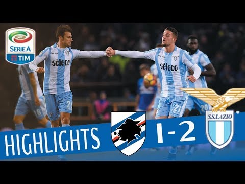 Sampdoria - Lazio 1 - 2 - Giornata 15 - Serie A TIM 2017/18