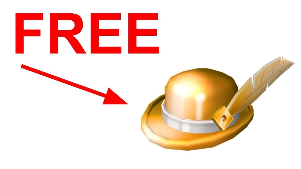Golden Robloxian Hat How To Get The Golden Roblox Bowler Free Youtube