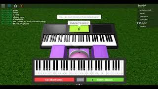 Take On Me - Roblox Piano