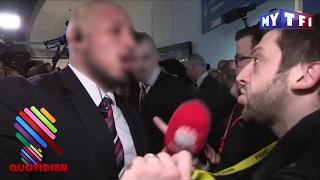 Paul Larrouturou violemment sorti après une question à Marine Le Pen - Quotidien du 01 Fevrier