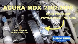 Power Steering Pressure Line Hose Assembly For 2004-2006 Acura TL 3.2L V6 2005