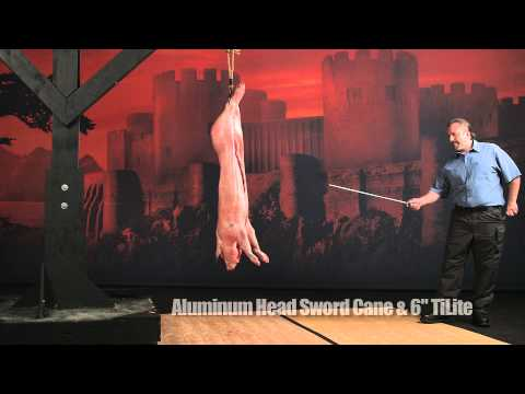 Cold Steel 88SCF Stainless Head Sword Cane video_1