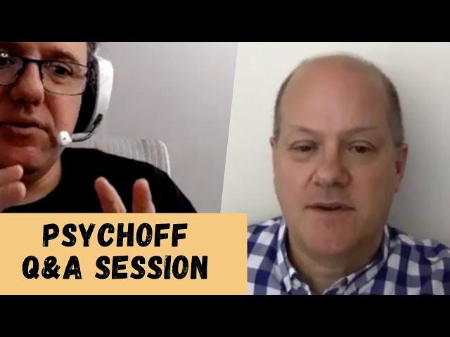 Betfair football trader Psychoff & Peter Webb - Q&A session