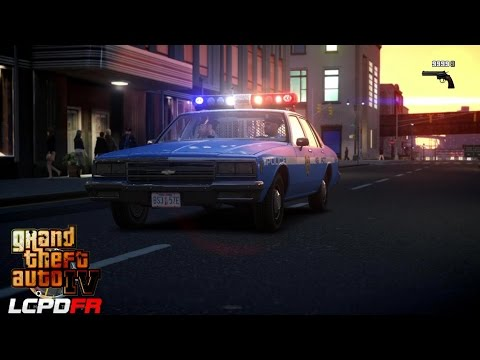GRAND THEFT AUTO IV - LCPDFR - 1.0D - EPiSODE 21 - NYPD 80'S PATROL (NYPD 1980'S)