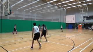 屯門區學界籃球 2016-17 男乙分組賽 南屯門官立 VS