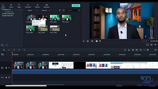 Barashada Filmora Video Editing  - 1 -  Download and Program Interface