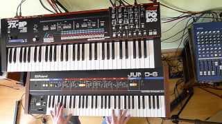 Roland Juno-6/60 vs JX-3P
