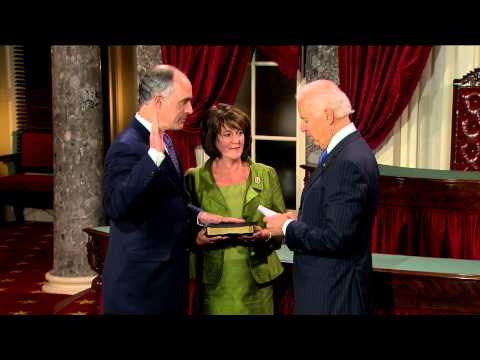 Swearing in of Senator Bob Casey (D-Penn.)