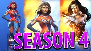 "Fortnite ""Superhero Themed"" Season 4 Skins, Superpowers, and Map Changes"